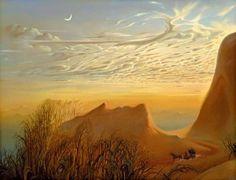 Vladimir Kush * Dunes * Eveil... Long sommeil poivré de rêves