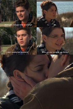 Dawson's Creek - Joey n Pacey first kiss