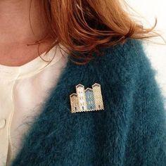 Broches en perles - Marie Claire Idées