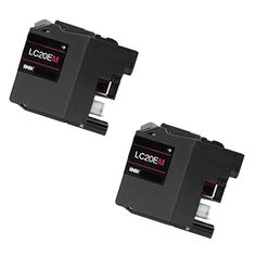 N 2 PK LC20EM XXL Compatible Ink Cartridge For Brother FCJ5920DW