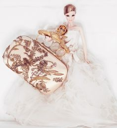 i'm a #barbie girl in a #bridal word    Photography ROBBIE FIMMANO  Stylist MIGUEL ENAMORADO