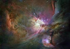 Inside the Orion Nebula - 2014 Hubble Space Telescope Advent Calendar - In Focus - The Atlantic