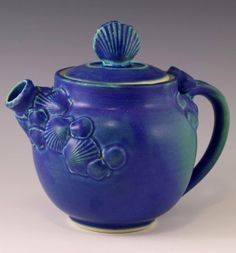 wonderful place to take classes and where I have learned all I know. Ceramic Teapots, Pottery Studio, Tea Time, Tea Party, Blue Green, Tea Cups, Artisan, Ceramics, Tableware