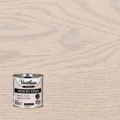 Enhance the natural beauty of interior wood surfaces by applying this excellent Varathane Sunbleached Premium Fast Dry Interior Wood Stain. Easy to use. Whitewash Stained Wood, White Wood Stain, Stain On Pine, Oak Stain, Minwax Stain Colors, Varathane Wood Stain, Interior Wood Stain, Stained Kitchen Cabinets, Bleached Wood