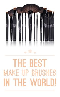 The Internet has Chosen the Best Makeup Brushes in the World! Good quality makeup brushes are a lifetime investment in your beauty regime and mean the difference between a flawless finish and frustrating morning. These 10 best rated brushes get the job done: http://www.comparaboo.com/makeup-brushes?origin=googled2