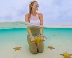 See 31 stunning half underwater GoPro photos. Plus, get 6 tips for shooting your own great half underwater photos with a GoPro and dome port. Cozumel, Cancun, Places To Travel, Places To Go, Travel Destinations, Cultural Experience, I Want To Travel, Foto Pose, Future Travel