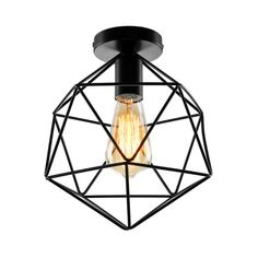 Entryway Home Lighting Industrial Style Farmhouse Ceiling Lamp For Hallway Industrial Style Lighting Ceiling Lamp Home Lighting