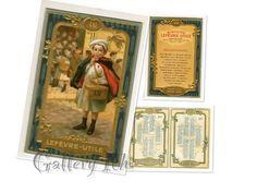 LUの看板少年のついた1914年聖人カレンダー付きの宣伝用カード この少年のついたビスケット缶や看板は今でも大人気  #papier  #carte #LU  #紙もの #アンティーク #アールヌーボー  #artnouveau #エンボス加工 #金彩 #クロモリトグラフィ #広告 #Gallery壹  #Galleryichi  #antique