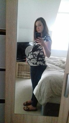 36 weeks and 3 days bump