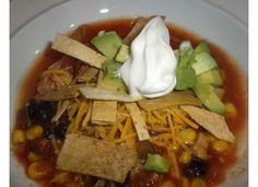 Laurie's tortilla soup