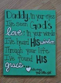 Always your little girl...