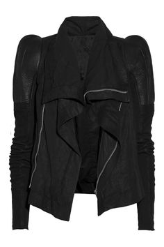 Rick Owens | Robot textured-leather jacket | NET-A-PORTER.COM