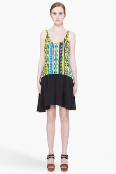 Thakoon Addition Striped Tank Dress for women | SSENSE