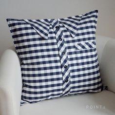 Košiláček подушка - большой, синий кубик