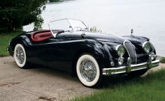My dream car: Jaguar 1956 XK140 MC Roadster