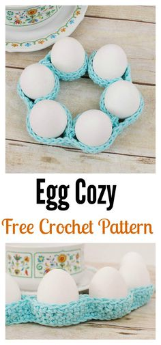 Crochet Egg Cozy / Cover Free Pattern
