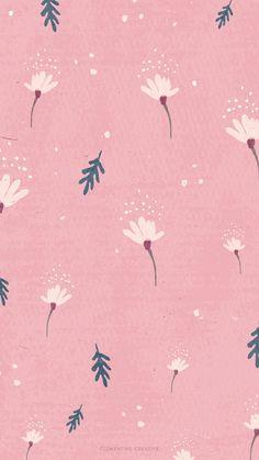 dainty-falling-flowers-iphone-pink.jpg 1,242×2,208 pixels