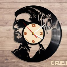 Lp Vinyl Schallplatten Wanduhr Abbey Road Retro Design