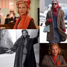 Cate Blanchett from the 2015 film, Carol. Costume design by Sandy Powell. This is such a lovely film. I enjoyed the book but the movie really took it to another level. Sandy Powell is one of my favorite costume designers and as usual, she did not disappoint. Cate Blanchett is so perfect she makes me want to weep!