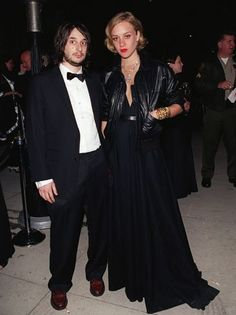 Throwback: Harmony Korine and then-girlfriend Chloe Sevigny in the 90s. So cool!