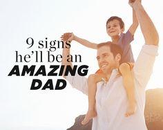 9 Signs He'll Be an Amazing Dad #cincinnatiobgyn