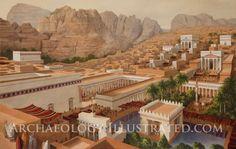 Petra, Jordan, capital of the Nabataean kingdom, 2nd century AD