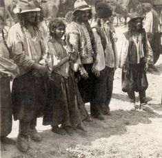 * Kalderari Gypsies in Romania. The beginning of 1940s.*