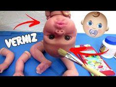 Pintando o Bebê Reborn Caseiro! Peter Toys - YouTube
