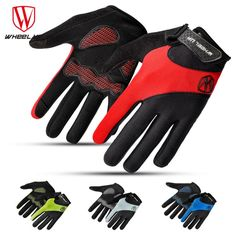 WHEEL UP full finger touch screen cycling gloves autumn road mtb mountain lycra bike bicycle sport gloves breathable equipment #Affiliate