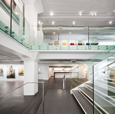 Galerie LeRoyer par Gupta Architecture, Montréal, Québec. Photo : Stéphane Brügger. Source : Design Montréal.