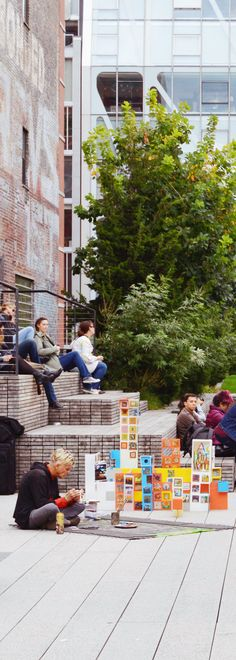 High Line - New York  #newyork #highline #streetart #art #novaiorque #manhattan #bigapple #eua #usa #ny #nyc #phototakenbyme