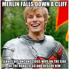 Well, if Morgana had shown up any earlier than Mordred or just before him then there would've been no saving Gwen. Though, this tells you how strong Merlin and Arthur's bond is (non-Merthur ship talk here). Honestly, sometimes the love of a good friend will trump romantic love. Seriously, that's possible? At least this version of the Arthurian legend certainly showed me that.
