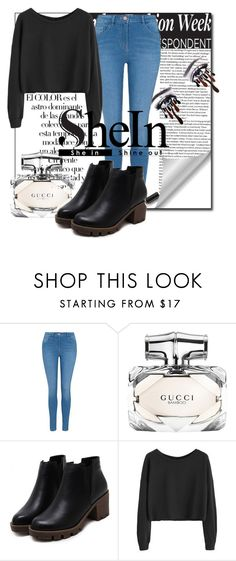 """""""SheIn1"""" by irmica-831 ❤ liked on Polyvore featuring Arco, George and Gucci"""