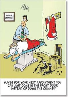 """12 Healthy Habits for a Healthy Christmas: #1: BE WELL ADJUSTED!   Christmas can be a stressful time of year for many. Chronic stress can affect your nervous system's ability to function correctly, leading to an increased risk for illness and pain, your muscles get tense and tighten.    Leading up to Christmas make sure you're up to date with your chiropractic adjustments. Chiropractic care helps to """"reset"""" the nervous system so you are better able to fight the negative effects of stress."""