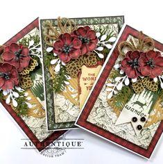 Vintage Greeting Cards, Greeting Cards Handmade, Vintage Postcards, Christmas Tag, Christmas Greetings, Paper Fans, Easter Crafts For Kids, Scrapbook Cards, Pocket Scrapbooking