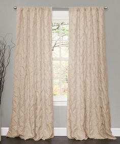 Take a look at this Taupe Lake Como Window Curtain on zulily today!