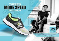 vandeu running shoe