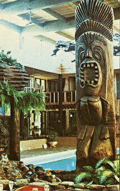 COOL Tiki Totem, Fort Nelson Motor Hotel, BC!  Vintage Tiki, Tiki Bar, Tiki Décor, Tiki Mug, Tiki!