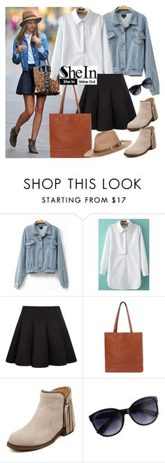"""""""Miranda Kerr look - SheIn (9)"""" by fashionqueengirl ❤ liked on Polyvore featuring Kerr® and Accessorize"""
