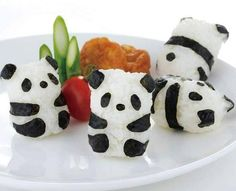 Bento Pandas And I don't even like sushi! x)