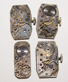 Vintage Watch Movements for Steampunk Jewelry and Art