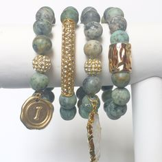 Love the color of these bracelets