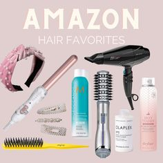 AMAZON HAIR FAVORITE ITEMS COLLAGE - Short hair can be so much fun when you get comfortable experimenting. Here are 6 cute and easy hairstyles for short hair