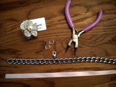 DIY Tutorial: Ribbon Necklace