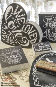 Gift Ideas - Love Chalk Signs
