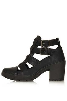 MEGA Cut Out Buckle Boots - View All  - Shoes