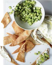 Whipped Feta with Cucumbers Recipe from Food & Wine