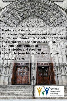 October 28, 2015 – Ephesians 2:19-20
