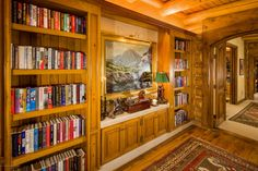 Grab a book and curl up in front of one of the many fireplaces in this Aspen, CO home.