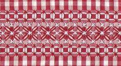 Resultado de imagem para bordado no xadrez barrados
